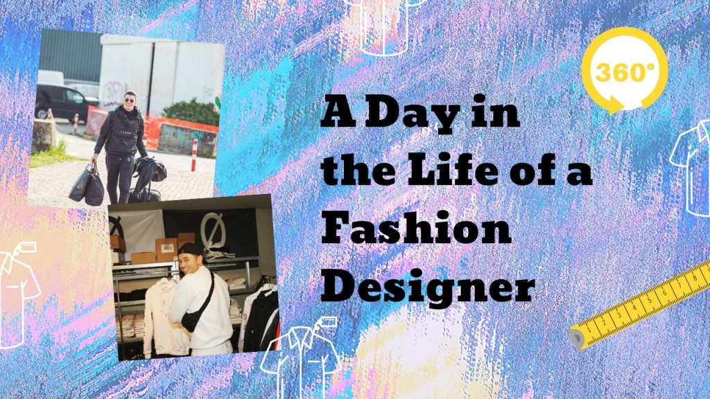 A Day In The Life Of A Fashion Designer 360 Vr Video Ottiya