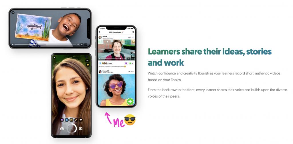 Flipgrid: Looks like Snapchat meets Education (free platform)