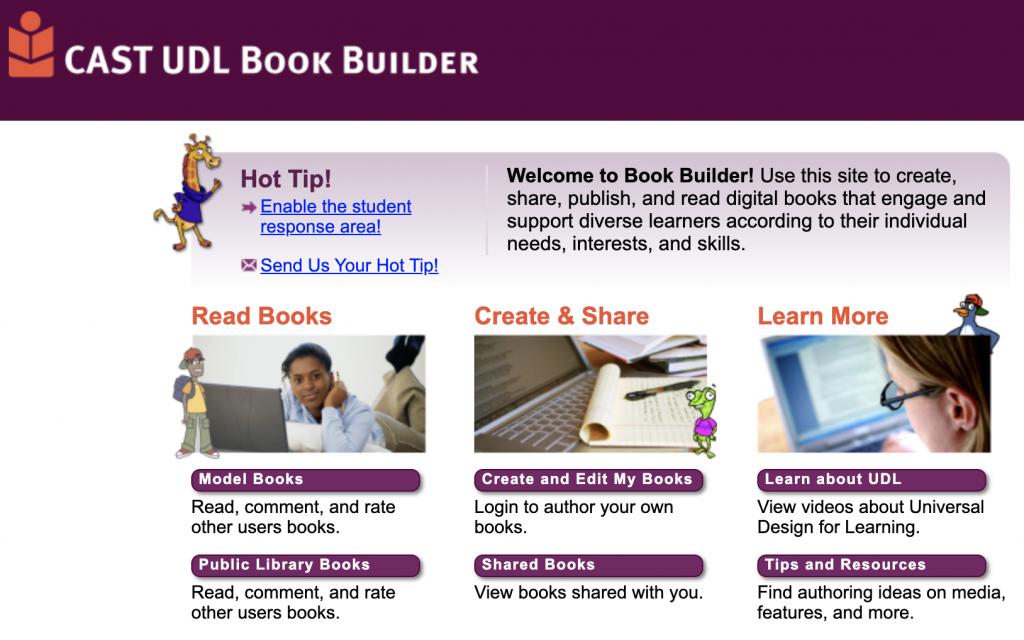 Book Builder by CAST UDL