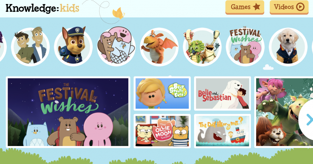 🇨🇦Commercial Free Animation + Games for Kids Ages 2-8 (Knowledge: Kids)