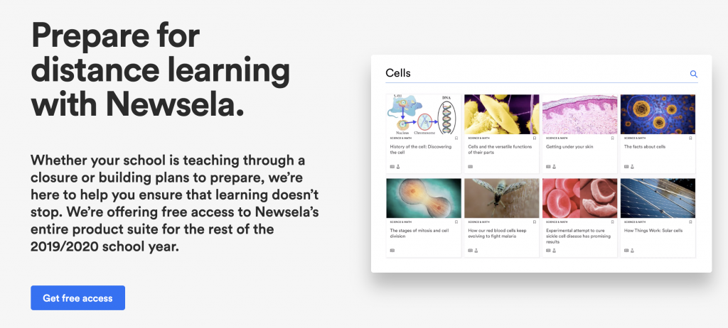 Newsela (database of non-fiction stories)