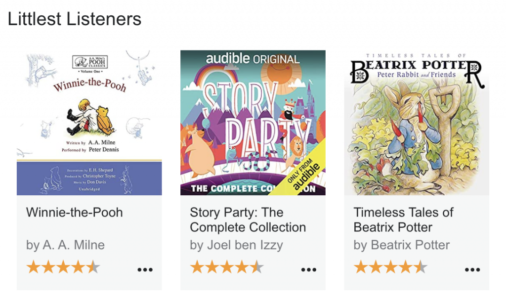 Free Audio Stories by Audible/Amazon