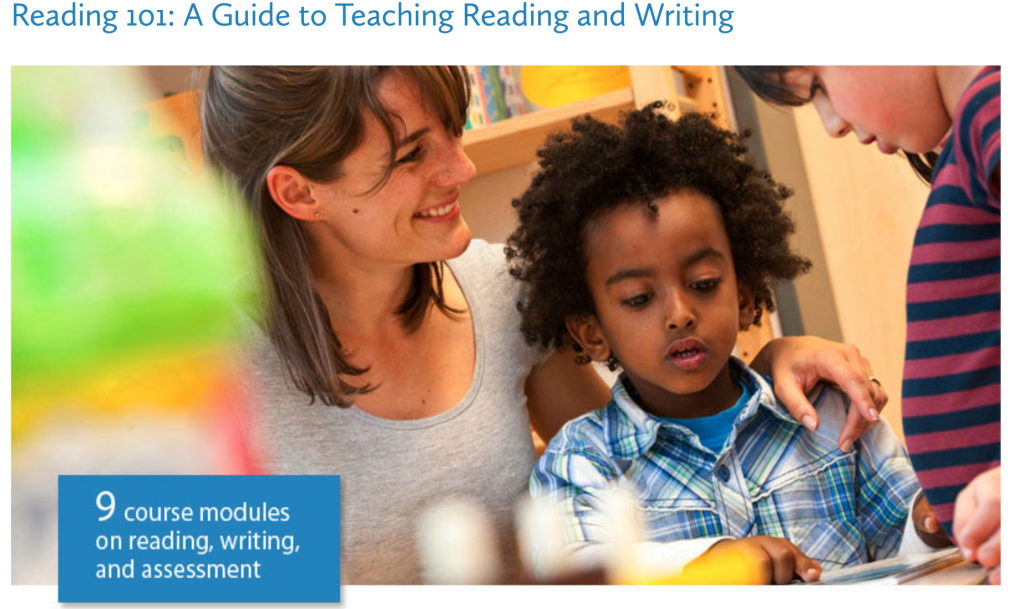Reading 101: A Guide to Teaching Reading and Writing